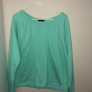 sweatshirt like shirt